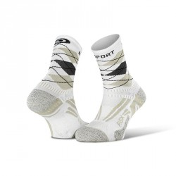 Chaussettes_running_RSX_EVO_burlington_blanc-gris - collector_edition