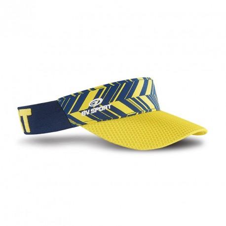 Visière_evo_bleu_marine/jaune