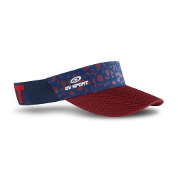 Visor evo navy blue/red