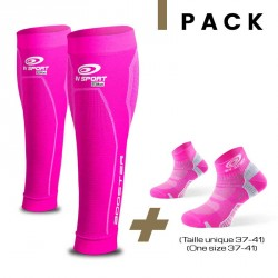 Pachetto Booster Elite rosa + Light one rosa 37-41