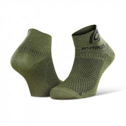 Ankle socks running Light 3D heather khaki - mix