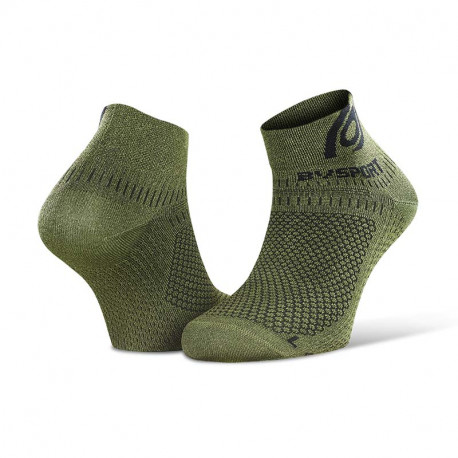 Socquettes running Light 3D kaki chiné - Mix