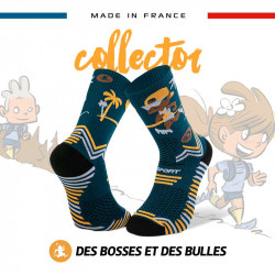 TRAIL ULTRA blue socks - Collector DBDB | Made in France