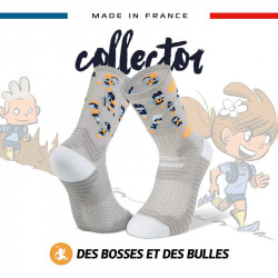 TRAIL ULTRA grey socks - Collector DBDB | Made in France