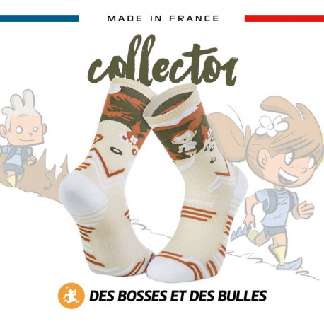 Chaussettes crême TRAIL ULTRA - Collector DBDB | Made in France