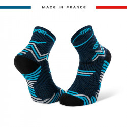Chaussettes bleu-gris TRAIL ULTRA | Made in France