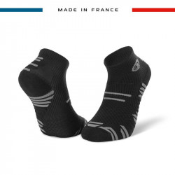 Socquettes noir-gris TRAIL ELITE | Made in France