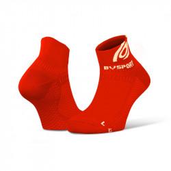 Running ankle socks Light 3D red
