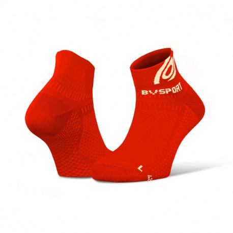 Socquettes running Light 3D rouge