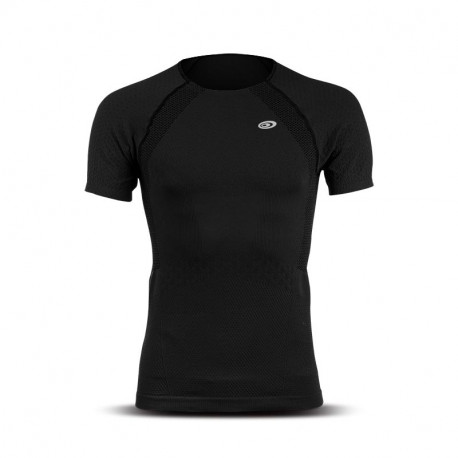 T-shirt uomo maniche corte RTECH EVO2 nero