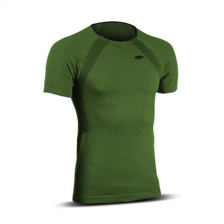 T-shirt uomo maniche corte RTECH EVO2 verde cachi