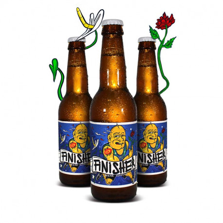 """French white beer """"Finisher"""" 