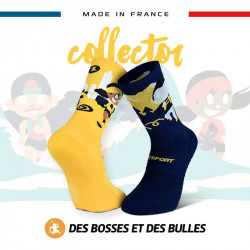 Chaussettes collector DBDB TRAIL ULTRA Fournaise | Made in France