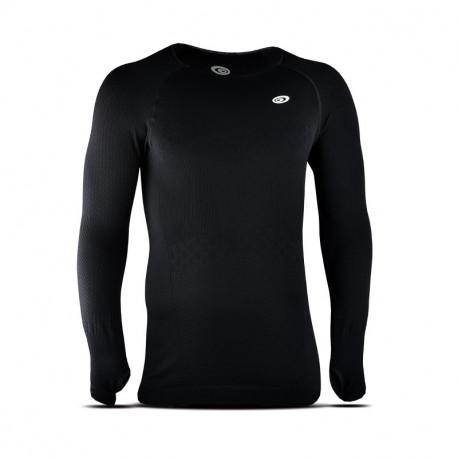 T-shirt homme manches longues RTECH EVO2 noir
