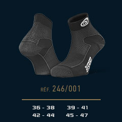 Hiking_ankle_socks_Double_polyamide_EVO_low-cut_black-grey