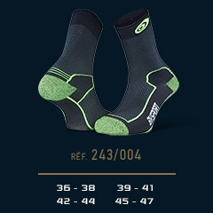Hiking_socks_Double_polyamide_EVO_mid-cut_black-green