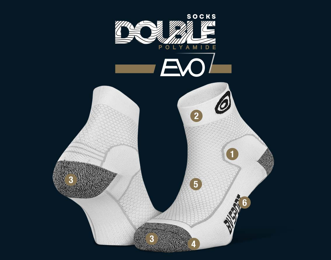 Hiking_ankle_socks_Double_polyamide_EVO_low-cut_white