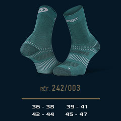 Chaussettes Double EVO vert