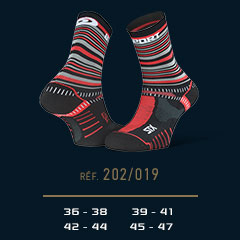 STX_EVO_trail_socks_tennis_black-red - Collector Edition