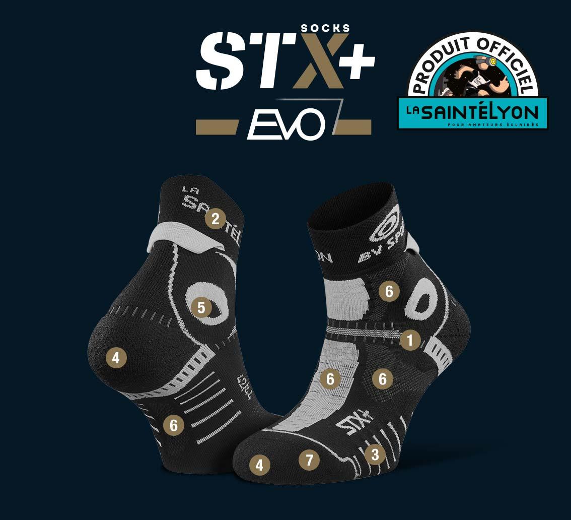Socquettes STX+ EVO SaintéLyon 2019