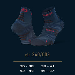 Hiking_ankle_socks_TREK_EVO_blue-red