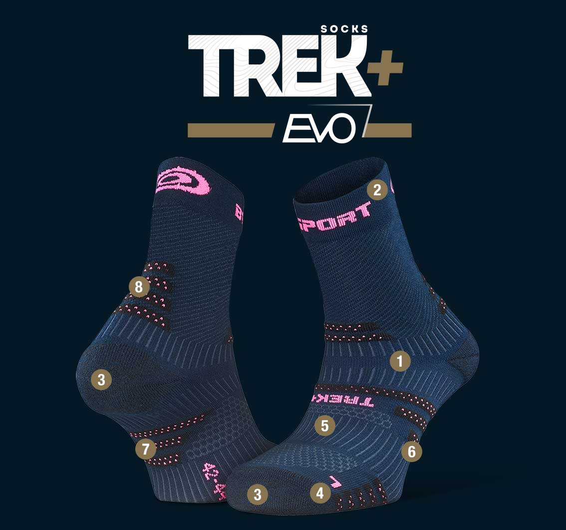 Hiking_socks_TREK+_EVO_blue-pink