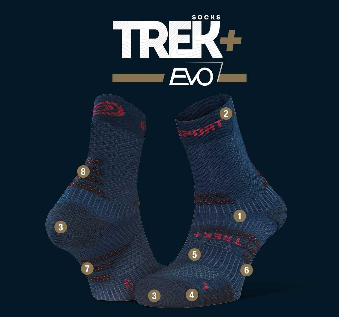 Hiking_socks_TREK+_EVO_blue-red