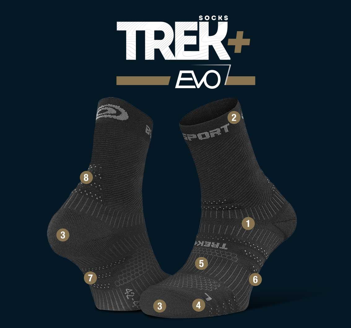 Hiking_socks_TREK+_EVO_black-grey