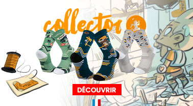 Chaussettes Trail collector DBDB - Made in France