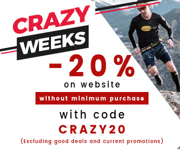 Crazy Weeks - 20% discount without minimum purchase