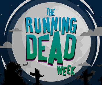 Running Dead Week | Scary Halloween prizes