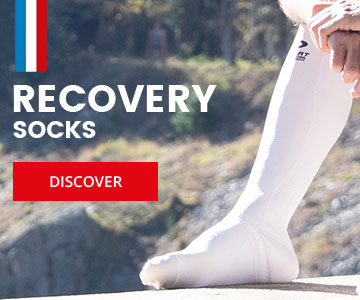 Recovery socks made in France in Saint-Etienne