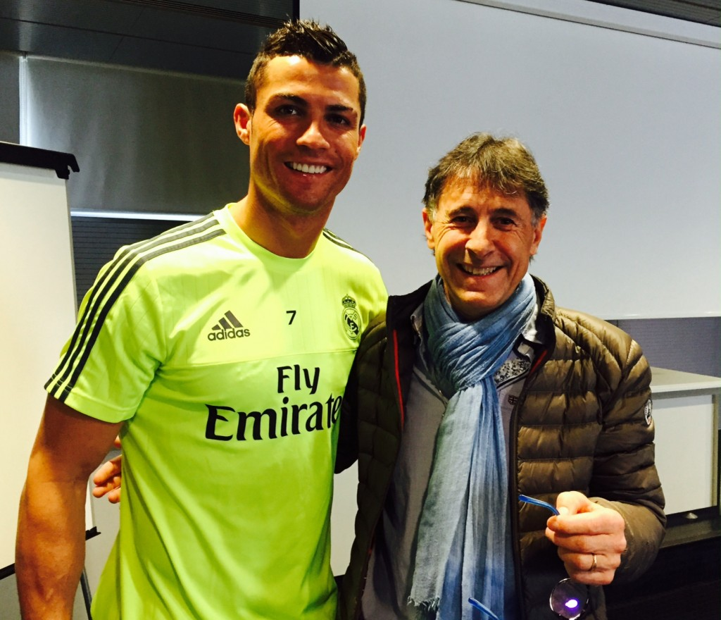 Cristiano Ronaldo and Salvatore CORONA