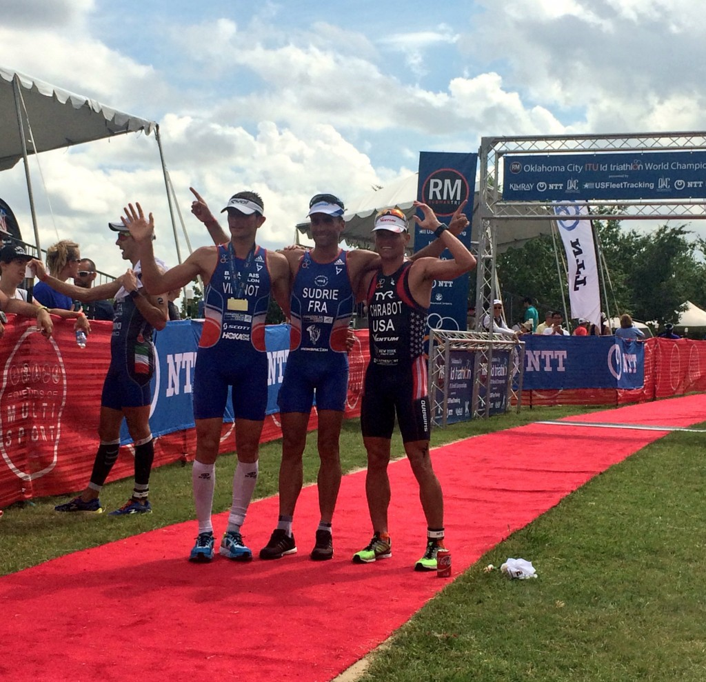 Cyril VIENNOT est vice-champion du monde de Triathlon Longue Distance