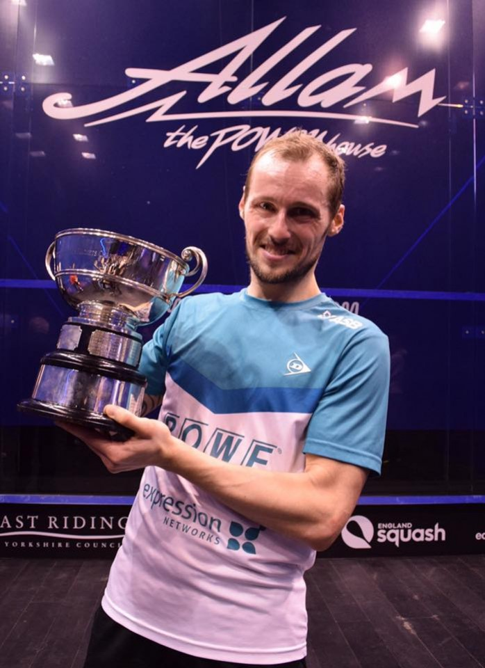 Squash : Grégory Gaultier, redevient n°1 mondial !