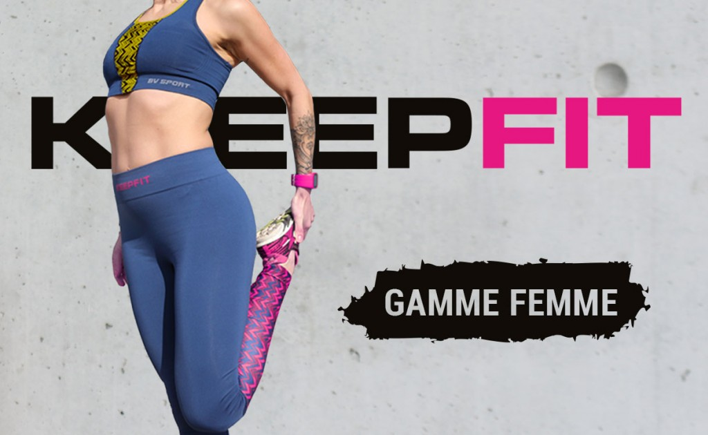 KEEPFIT range 100% feminine gross up