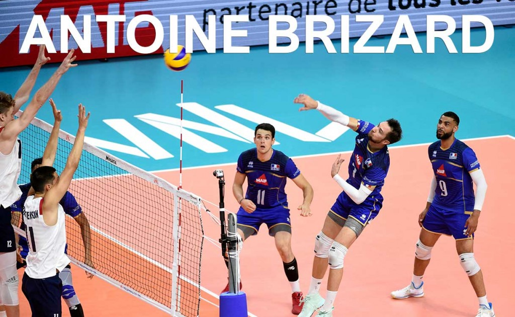 Interview | Antoine Brizard, passeur de l'équipe de France Volley.